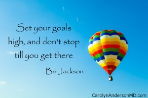 Goals Quote by Bo Jackson