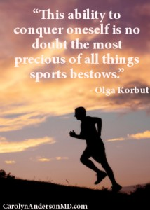 Sports Quote from Olga Korbut