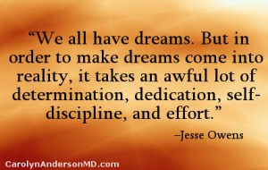 Jesse Owens Quote